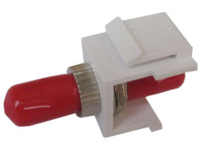 MICROCONNECT Snap-in Fiber Keystone with (FIBSTMKEY)