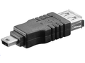 MICROCONNECT Adapter USB A-B 5pin mini F-M