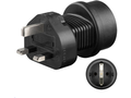 MICROCONNECT Universal adapter UK to Schuko