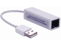 MICROCONNECT USB2.0 to Ethernet, White (USBETHW)