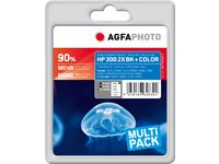 AGFAPHOTO Ink Black x 2 + Color (APHP300SET2)