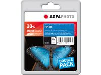 AGFAPHOTO Ink Black Dye 2-pack (APHP56BDUO)