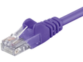 MICROCONNECT UTP CAT6 3M purple PVC