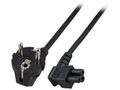 MICROCONNECT Power Cord Notebook 1.8m Black