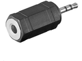 MICROCONNECT Adapter 2.5mm - 3.5mm M-F