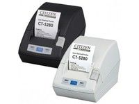 CITIZEN CT-S280 Thermal printer, Serial, 203dpi, External 230V PSU, Black (CTS280RSEBK)