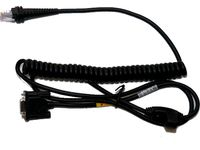 HONEYWELL Cable: RS232 (+/-12V signals), black, DB9 Male, 3m, coiled, external power (CBL-320-300-C00)