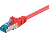MICROCONNECT SFTP CAT6A 15M Red SNAGLESS
