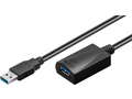 MICROCONNECT Active USB 3.0 cable, A/M-A/F