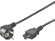 MICROCONNECT Power Cord Notebook 0,5m Black MICRO