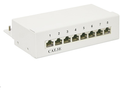 MICROCONNECT Patch Panel CAT 5e 8 port