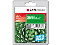 AGFAPHOTO Ink, rpl LC-1240 Value-Pack (APB1240SETD)