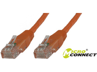 MICROCONNECT U/UTP CAT6 3M Orange PVC BULK
