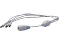 MicroView Power Cable 40cm, White