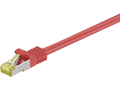 MICROCONNECT CAT 7 S/FTP  RJ45 RED 0.25m