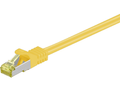 MICROCONNECT CAT 7 S/FTP  RJ45 YELLOW 1m
