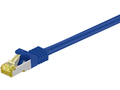 MICROCONNECT CAT 7S/FTP  RJ45 BLUE 1m