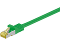 MICROCONNECT CAT 7 S/FTP  RJ45 GREEN 1m