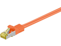 MICROCONNECT CAT 7 S/FTP  RJ45 ORANGE 1m