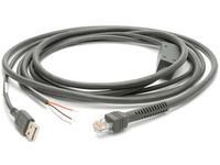ZEBRA Cable Assy Eas Usb A Series S Traight, With Eas (CBA-U06-S09EAR)