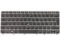 HP Backlit keyboard with PointStick UK