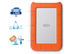 SEAGATE Lacie 1TB RUGGED MINI USB3.0 EXT