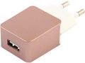 eSTUFF Home Charger 1 USB 1A, Rose
