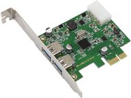 MICROCONNECT USB 3.0 2 Port PCIe Card