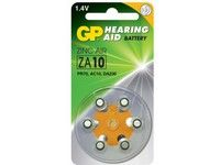 GP HEARING AID ZINK AIR ZA10 (ZA10 6-P)