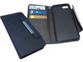 SANDBERG Flip wallet iPhone 7/8 Blackskin