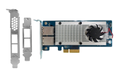 QNAP Dual-port 10Gbase-T network expansion card  for  A01 series rack mount model, LP