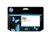 HP 745 Ink Cartridge Yellow 130ml (F9J96A)