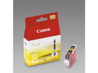 CANON CLI-8Y ink cartridge yellow standard capacity 13ml 1-pack (0623B001)