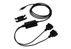 MICROCONNECT USB A - 2xSerial DB9 M-M, 1,8m