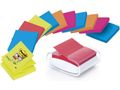 POST-IT Dispenser Post-it PRO Hvid Super Sticky t/Z-Notes 76x76mm + 12 Z-notes Super Sticky