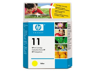 HP 11 Yellow Ink Cartridge (C4838AE)