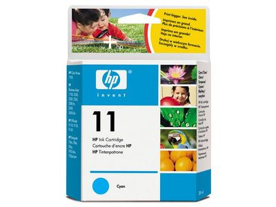 HP 11 Cyan Ink Cartridge (C4836AE)
