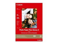 CANON 13x18 Photo Paper Plus Glossy (PP-201), 270 gram *20-Sheets* (2311B018 $DEL)