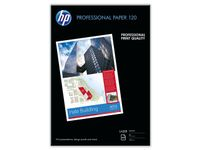 HP Professional glanset laserpapir 120 gsm – 250 ark/ A3/ 297 x 420 mm