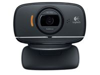 LOGITECH B525 HD Webcam 2MP 720p MSLync USB black for Business (960-000842)