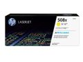 HP Toner/ 508X HY Yellow Original LJ Cart