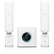 UBIQUITI AmpliFi High Density Home Wi-Fi System with Router & (2) Mesh Points, AFi-HD