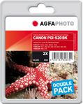 AGFAPHOTO Ink Black Pigment 2-pack (APCPGI520BDUOD)