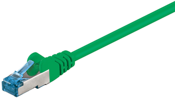 MICROCONNECT SFTP CAT6A 0,5M Green SNAGLESS (SFTP6A005G)