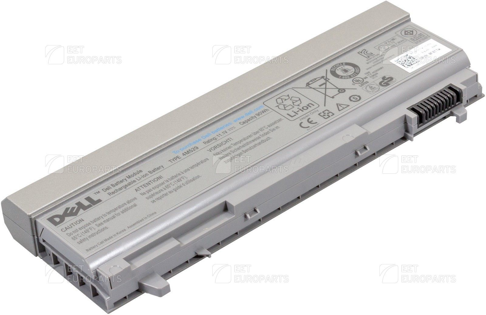 DELL Battery 9 Cell 90WHR (F8TTW)