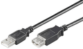 MICROCONNECT USB2.0  Extension A-A 1,5m M-F MICRO