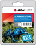 AGFAPHOTO Ink BK+CO, rpl HP No. 301 XL (APHP301XLSET)
