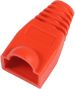MICROCONNECT Boots RJ45 Red 25pack