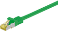 MICROCONNECT CAT 7 S/FTP  RJ45 GREEN 0.50m