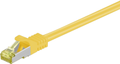 MICROCONNECT CAT 7 S/FTP  RJ45 YELLOW 0.25m